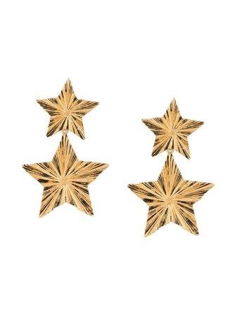 Saint Laurent Star Drop Earrings - Farfetch