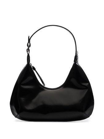 Black BY FAR small Amber shoulder bag 20PFBASBLWSMA - Farfetch