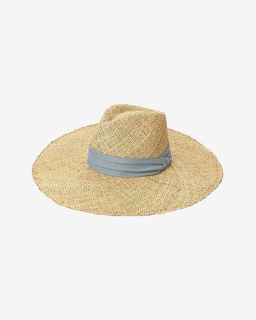 San Diego Hat Company Seagrass Wide Brim Fedora