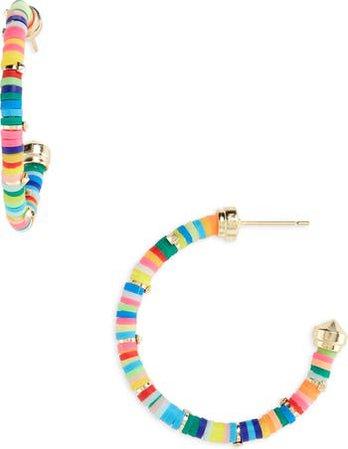 Kendra Scott Reece Small Hoop Earrings | Nordstrom