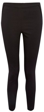 Black Pocket Skinny Trousers