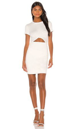 Lovers + Friends Capulette Dress in White   REVOLVE