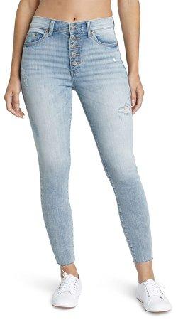 Call You Back High Waist Crop Jeans