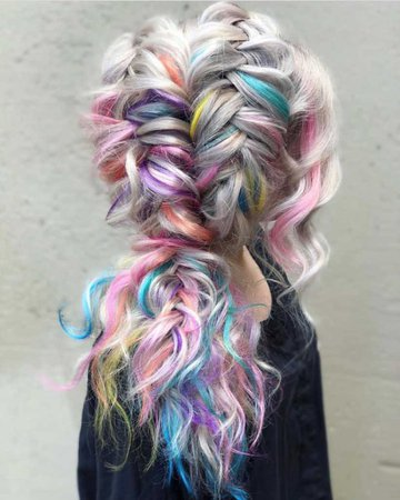Unicorn Pastel Hair