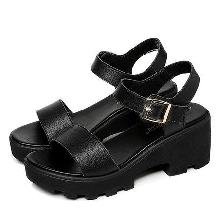 Feelin' Alright Sandals – Boogzel Apparel