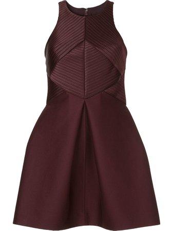 Halston Heritage Structured Cocktail Dress - Farfetch