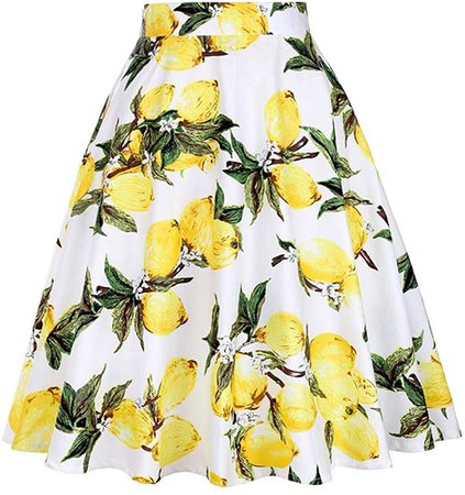 Lemon High Waisted Skirt