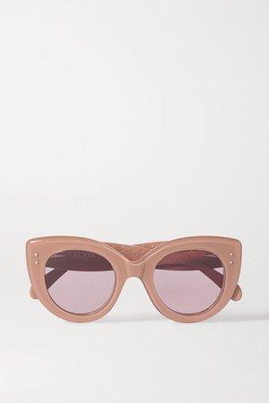 Alaïa | Cat-eye acetate sunglasses | NET-A-PORTER.COM