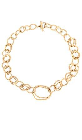 SOKO Nia Collar Necklace in Gold | REVOLVE