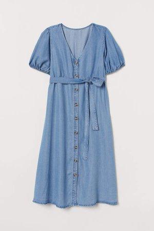 MAMA Lyocell Dress - Turquoise