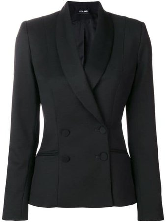 Styland double breasted tuxedo jacket $601 - Buy Online - Mobile Friendly, Fast Delivery, Price
