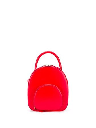 Red belysa mini leather backpack BLS1BKH01ARD1 - Farfetch