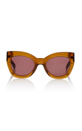 Karen Walker Northern Lights Acetate Cat-Eye Sunglasses