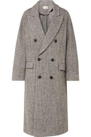 Isabel Marant Étoile - Habra Double-breasted Bouclé Coat - Gray