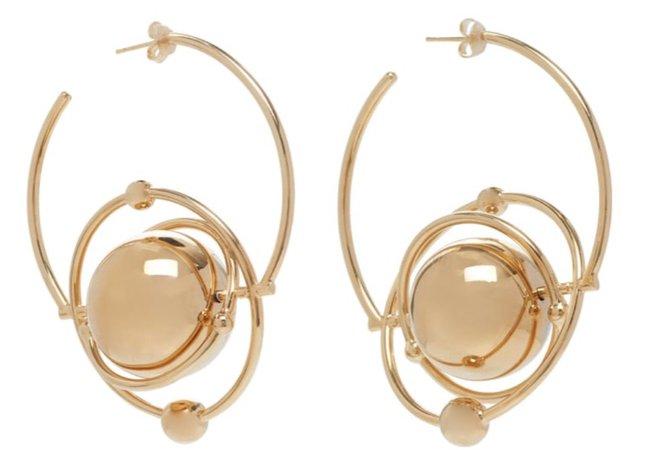 paco rabanne earrings