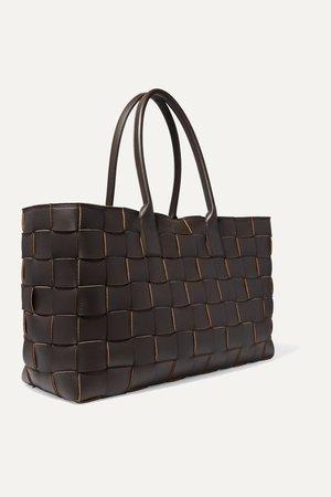 Brown Cabas medium intrecciato leather tote | Bottega Veneta | NET-A-PORTER