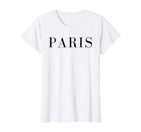Amazon.com: Womens Womens Paris Cute Stylish French Graphic Tee Fashionable T-Shirt: Clothing