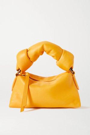 Orange Mini padded leather tote   Dries Van Noten   NET-A-PORTER