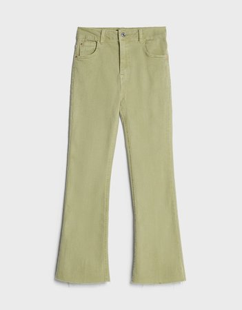 Kick flare trousers - NEW - Woman | Bershka