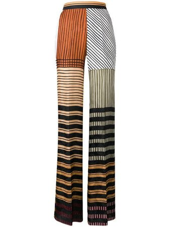 Etro striped wide leg trousers $656 - Buy Online SS19 - Quick Shipping, Price