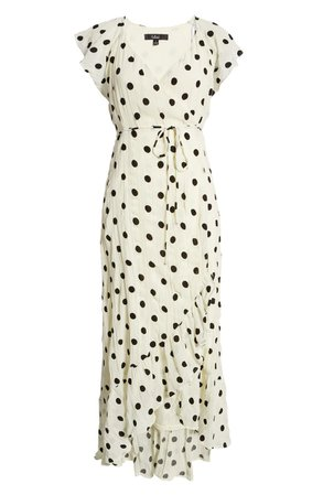 Behold The Beauty Polka Dot Wrap Dress   Nordstrom