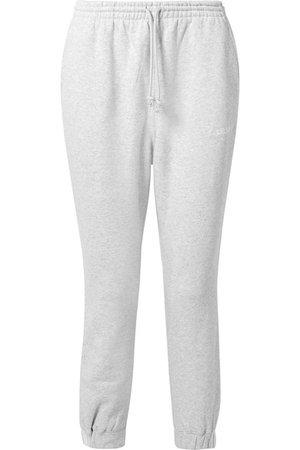 adidas Originals   Coeeze organic cotton-blend fleece track pants   NET-A-PORTER.COM