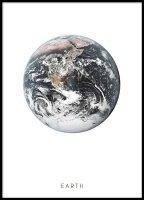 Plakat med jorden | Plakater og posters med jorden og rommet