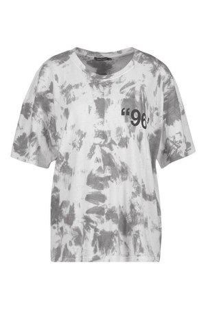 Stereotypical Tie Dye Graphic T-Shirt | Boohoo