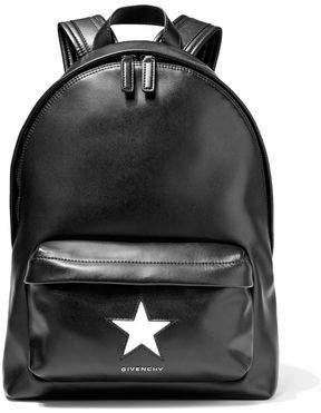 Mini Star Leather Backpack