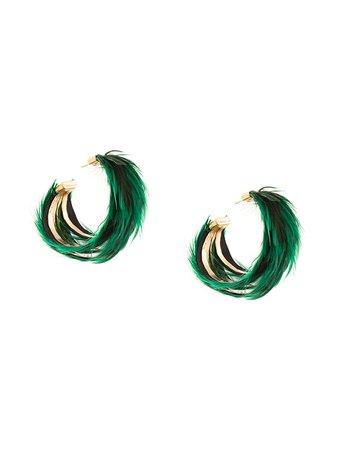 Katerina Makriyianni Hoop Earrings Ss20 | Farfetch.com