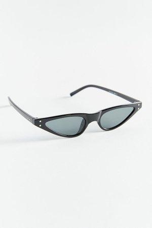 Lena Super-Slim Cat-Eye Sunglasses   Urban Outfitters