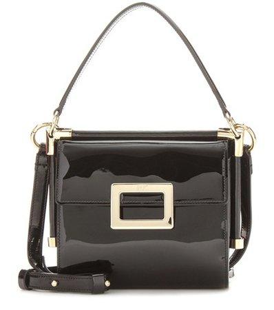 Miss Viv' Carre' Mini patent leather shoulder bag