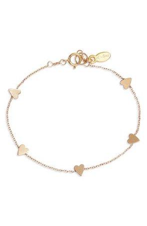Set & Stones Ryanne Heart Bracelet | Nordstrom