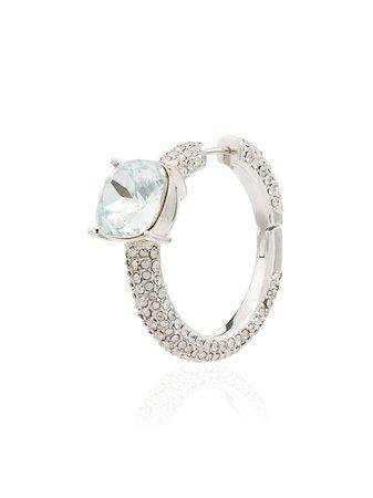 Ambush Faux-Pearl Embellished Earrings 12111893 Silver | Farfetch