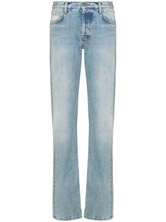 The Attico Binx straight-leg Jeans - Farfetch