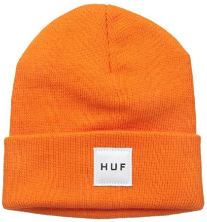 HUF orange beanie