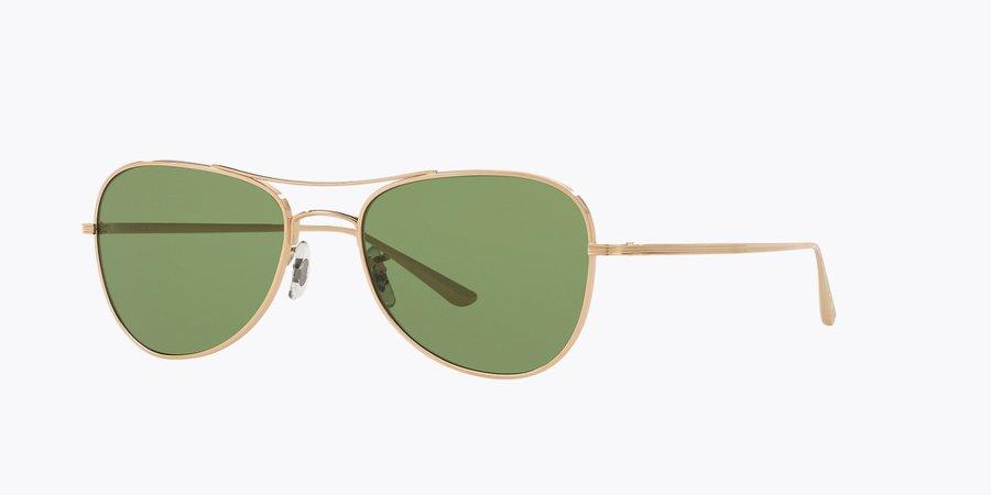 Sunglasses OV1198ST - Gold - Green - Titanium   Oliver Peoples USA