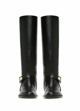 Givenchy Siyah KADIN Siyah Kemer Detaylı Kadın Deri Çizme 793080   Beymen