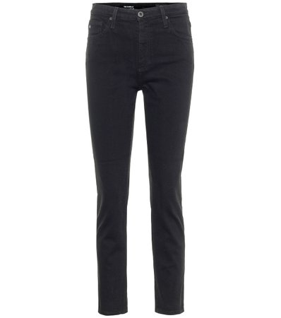 AG Jeans - Isabelle high-rise straight jeans | Mytheresa