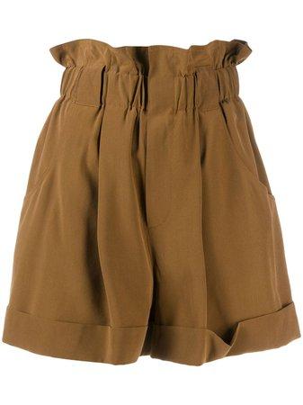 Fendi Paper Bag Shorts - Farfetch