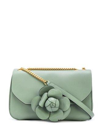 Oscar De La Renta, Floral Cross Body Bag