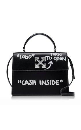 Off-White c/o Virgil Abloh Jitney 2.8 Printed Leather Shoulder Bag