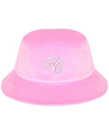 HIDDEN CULT Pink Velvet Unisex Bucket Hat