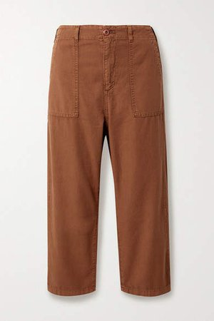 The Ranger Cotton-canvas Cargo Pants - Brown