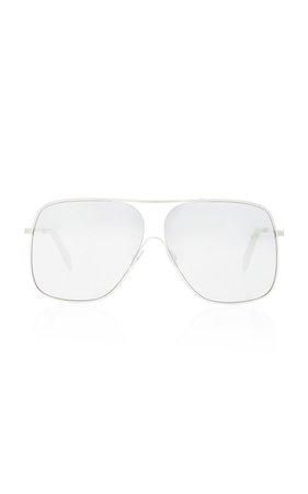 Loop Navigator Metal Sunglasses by Victoria Beckham | Moda Operandi