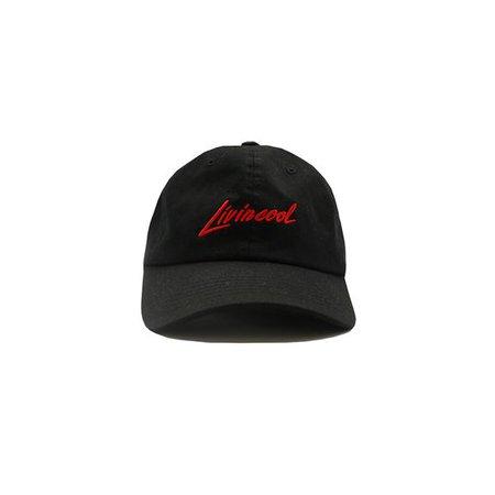 LOLITA CAP - BLACK – LIVINCOOL