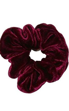 maroon scrunchie - Google Search