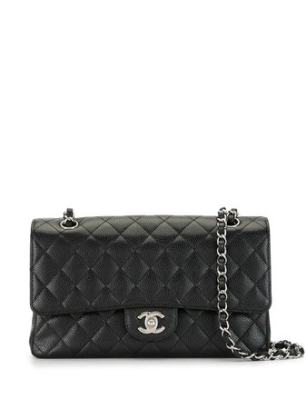 Chanel Pre-Owned 2012 Quilted Double Flap Shoulder Bag - Farfetch