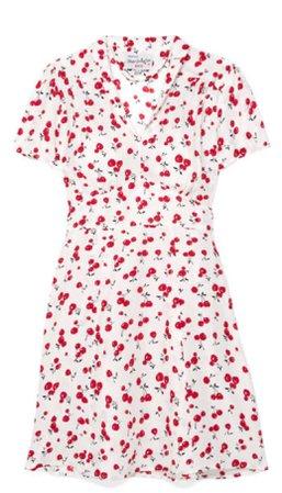 HVN Mini Morgan Printed Silk Crepe De Chine Dress