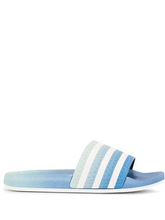 Adidas Claquettes Adilette à Rayures - Farfetch